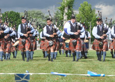 See The Great Lakes Pipe Band at the Ohio Celtic Fest
