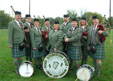 Irish American Club East Side Pipe Band at the Ohio Celtic Festival