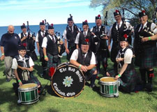 See The Black Sheep Pipes and Drums at the Ohio Celtic Fest