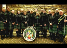 West Side Irish American Club Pipes and Drums