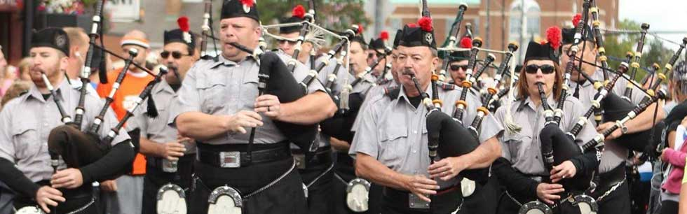 The Ohio Celtic Festival will feature the best bag pipe bands around