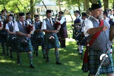 Advertising and sponsor opportunity at the Ohio Celtic Fest