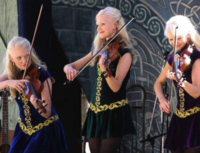 See Irish Entertainers the Gothard sisters at our Irish Fest in Cleveland, Ohio